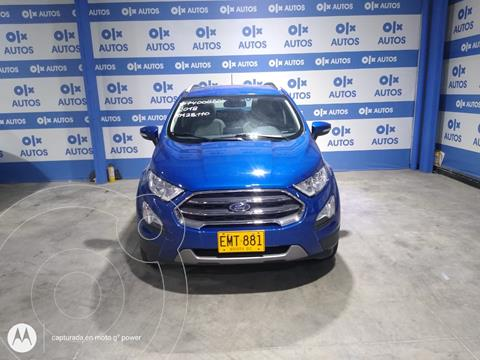 Ford Ecosport 2.0L Titanium usado (2018) color Azul Relampago financiado en cuotas(anticipo $8.000.000 cuotas desde $1.538.000)