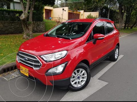Ford Ecosport 1.5L SE Aut usado (2020) color Rojo precio $69.900.000