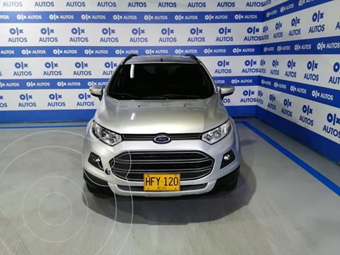 Ford Ecosport SE Aut   usado (2015) color Plata Metalico financiado en cuotas(anticipo $6.000.000)