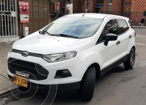 Ford Ecosport S 4x2 usado (2015) color Blanco Artico precio $40.000.000
