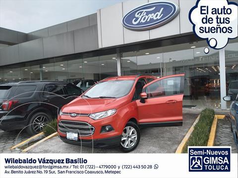Ford Ecosport TREND AT usado (2015) color Rojo precio $170,000
