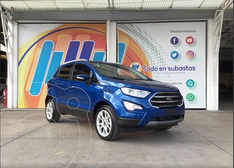 Ford Ecosport Titanium Aut usado (2020) color Azul precio $350,000