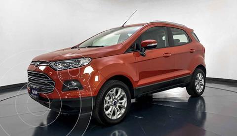 Ford Ecosport Titanium Aut usado (2017) color Naranja precio $262,999
