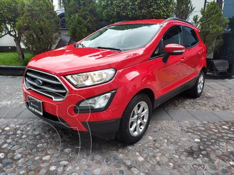 Ford Ecosport TREND TA usado (2020) color Rojo precio $330,000