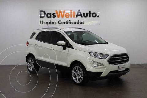 Ford Ecosport Titanium Aut usado (2019) color Blanco precio $385,000