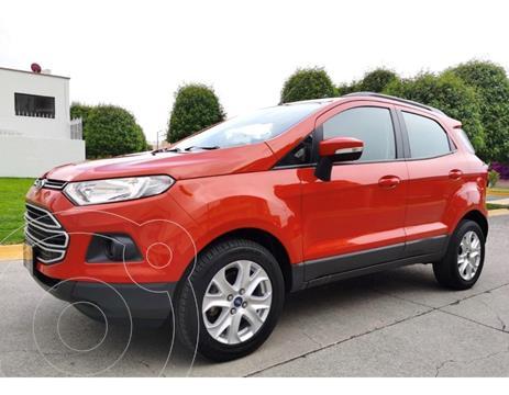 Ford Ecosport Trend Aut usado (2017) color Naranja precio $210,000
