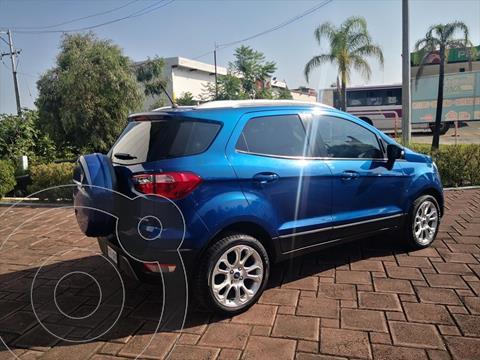 Ford Ecosport TITANIUM TA 2.0L usado (2018) color Azul Electrico precio $330,000