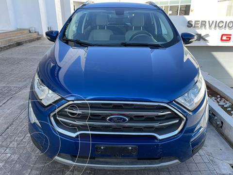 Ford Ecosport Titanium usado (2018) color Azul precio $295,000