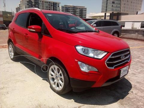 Ford Ecosport Titanium usado (2020) color Rojo precio $379,000