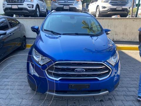 Ford Ecosport TITANIUM TA 2.0L usado (2018) color Azul Electrico precio $319,000