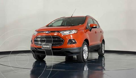 Ford Ecosport Titanium Aut usado (2016) color Naranja precio $229,999