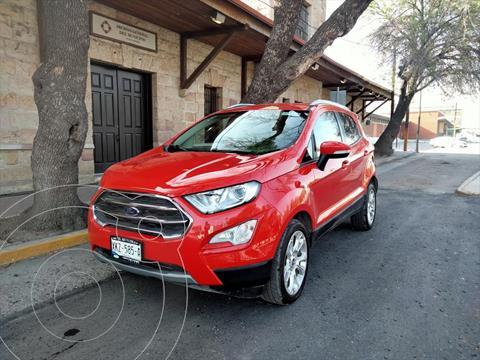 Ford Ecosport Titanium usado (2020) color Rojo precio $335,000