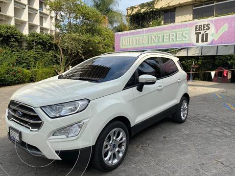 Ford Ecosport Titanium usado (2020) color Blanco precio $398,000