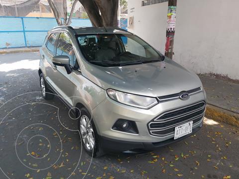 Ford Ecosport Trend Aut usado (2015) color Plata precio $185,000