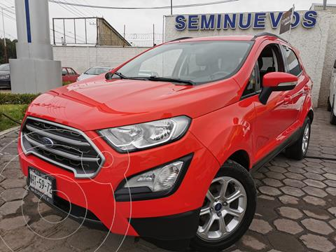 Ford Ecosport Trend usado (2018) color Rojo precio $300,000