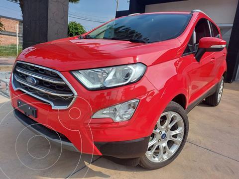 Ford Ecosport Titanium usado (2020) color Rojo Racing financiado en mensualidades(enganche $95,000 mensualidades desde $8,812)