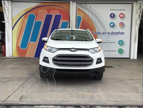 Ford Ecosport Trend Aut usado (2015) color Blanco precio $110,000