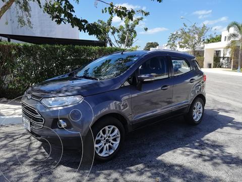 Ford Ecosport Titanium Aut usado (2017) color Gris precio $205,000