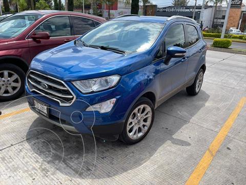 Ford Ecosport Titanium usado (2020) color Azul Electrico precio $310,000