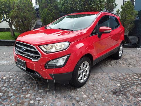 Ford Ecosport Trend Aut usado (2020) color Rojo financiado en mensualidades(enganche $82,500)