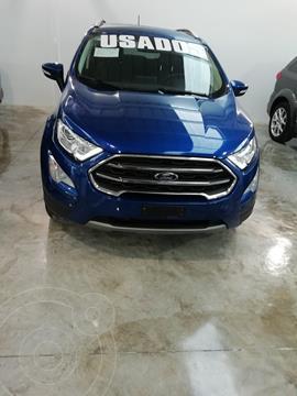 Ford Ecosport Titanium Aut usado (2020) color Azul Relampago precio $365,000