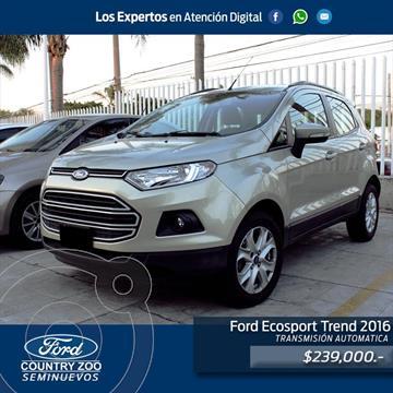 Ford Ecosport Trend usado (2016) precio $239,000
