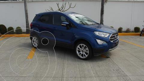 Ford Ecosport TITANIUM L4 2.0L R16 POWERSHIFT usado (2020) color Azul Electrico precio $365,000