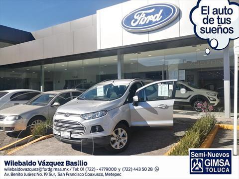 Ford Ecosport TREND MT usado (2017) color Plata precio $197,000