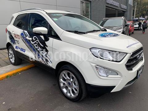 Ford Ecosport Titanium usado (2020) color Blanco precio $397,000
