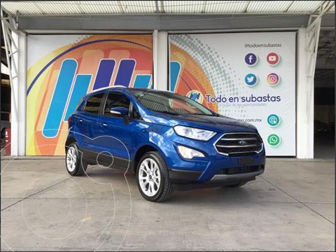 Ford Ecosport Titanium Aut usado (2020) color Azul precio $345,000