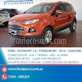 Foto venta Auto usado Ford EcoSport Titanium 1.5L (2014) color Naranja