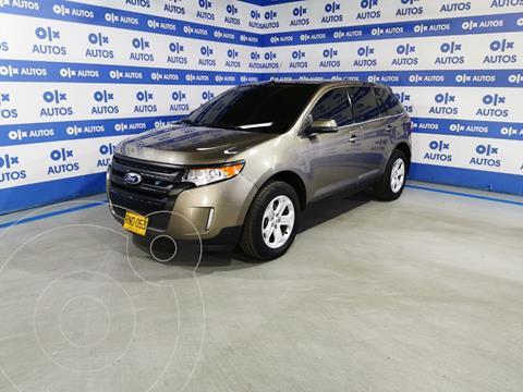 Ford Edge Limited 3.5L Aut usado (2012) color Marron financiado en cuotas(anticipo $7.000.000)
