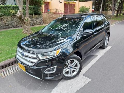Ford Edge Limited 3.5L Aut  usado (2016) color Negro precio $89.900.000