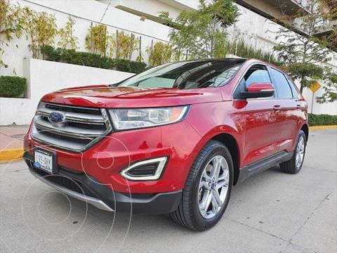 Ford Edge Titanium usado (2016) color Rojo precio $360,000
