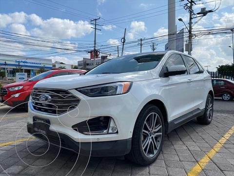 Ford Edge TITANIUM 2.0 GTDI usado (2020) color Blanco precio $654,900