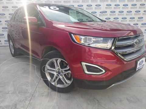 Ford Edge Titanium usado (2016) color Rojo precio $320,000