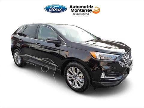 Ford Edge Titanium usado (2019) color Negro precio $599,900