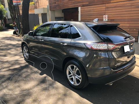 Ford Edge Titanium usado (2018) color Gris precio $490,000