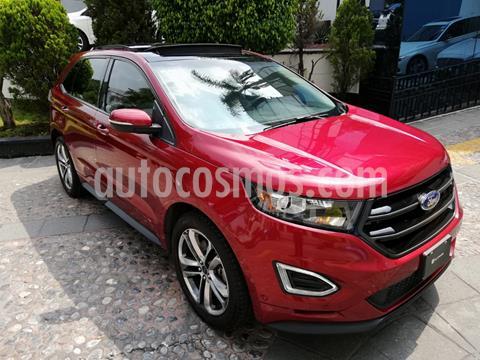 Ford Edge Sport usado (2017) color Rojo Rubi precio $430,000