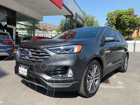 Ford Edge Titanium usado (2020) color Gris precio $643,000