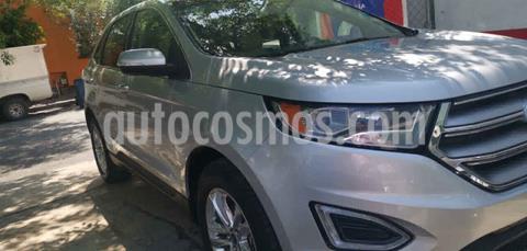 Ford Edge SEL Plus usado (2015) color Plata precio $285,000