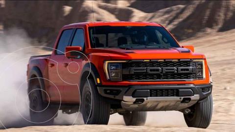 Ford Edge 5 PTS SEL PLUS, L4, ECOBOOST 20T, TA, PIEL, DVD,G usado (2017) color Blanco precio $461,466