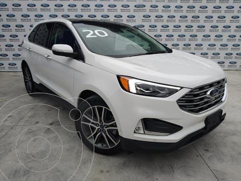 Ford Edge TITANIUM 2.0 GTDI usado (2020) color Blanco precio $820,500