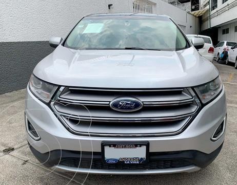 Ford Edge SEL PLUS usado (2017) color Plata Dorado precio $370,000