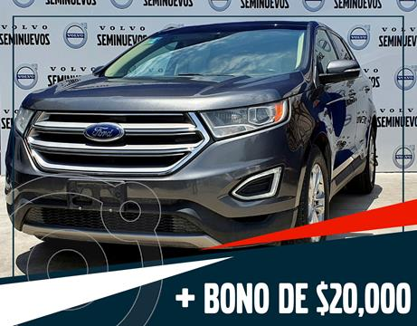 Ford Edge SEL PLUS usado (2017) color Gris Oscuro precio $385,000