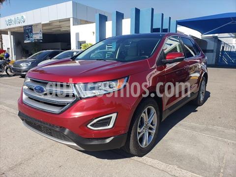 Ford Edge Titanium usado (2018) color Rojo precio $395,000
