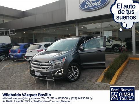 Ford Edge TITANIUM V6/3.5 AUT usado (2015) color Gris Oscuro precio $325,000
