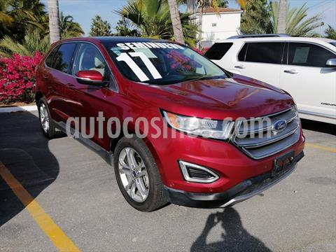 Ford Edge Titanium usado (2017) color Rojo precio $435,000