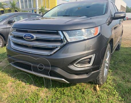 Ford Edge SEL FWD usado (2018) color Gris precio $450,000
