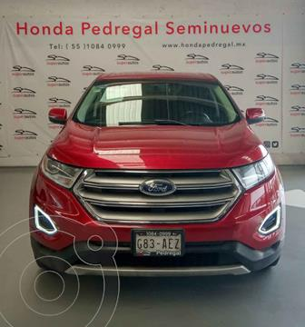 Ford Edge SEL usado (2015) color Negro precio $295,000